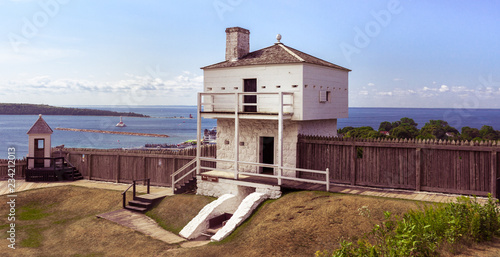 Photo Fort Mackinac Blockhouse