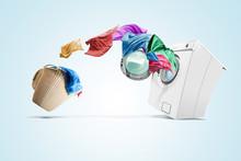 Clothing From Laundry Basket G...