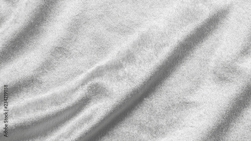 Photo Slver white velvet background or velour flannel texture made of cotton or wool w