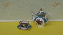 English Teacup With Saucer, Sp...