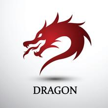 Dragon Head Vector