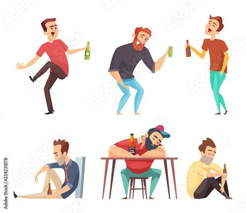 Fotografia, Obraz Addiction alcoholic