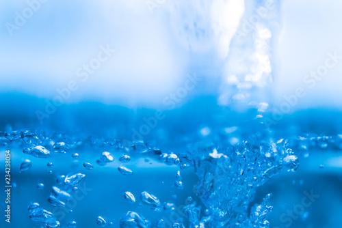 Fotografie, Obraz  水のテクスチャ