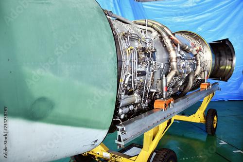 Poster Naufrage 飛行機のジェットエンジン