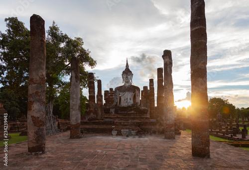 Fotografie, Obraz  Sukhothai Tempelanlage