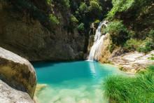 Polilimnio Waterfall - Peloponnese - Greece