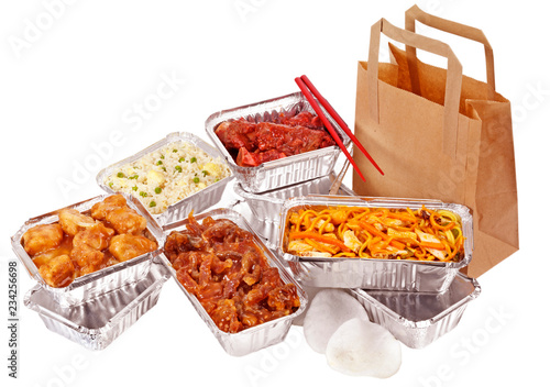 CHINESE TAKEAWAY CUT OUT - 234256698