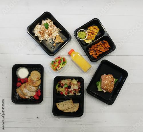 Fototapeta Catering dietetyczny obraz
