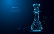 Chess Queen Symbol Of Power. A...
