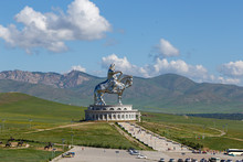 Equestrian Statue Of Genghis K...