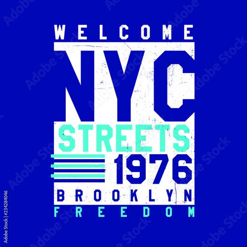 d3a33228 new york varsity urban poster distressed kids apparel - Buy this ...