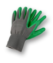Isolated Image Of A Pair Of Gardening Gloves