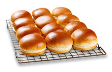Brioch Buns Cooling On A Wire ...