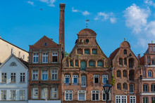 Half-timbered Red Brick Houses...