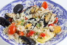 Rice, Potatoes And Mussels, Tr...