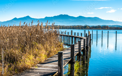 Stampa su Tela lake chiemsee - bavaria