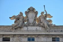 Palazzo Della Consulta, Seat Of The Italian Constitutional Court,  Rome, Italy.