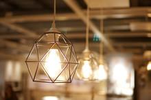Vintage Caged Creative Lamp Li...
