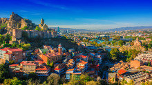 Panoramic View Of Tbilisi, Geo...