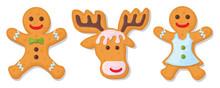 Set Of Christmas Cookies. Set ...