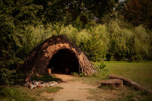 Paleolithic Or Neolithic Hut In Biskupin, Poland