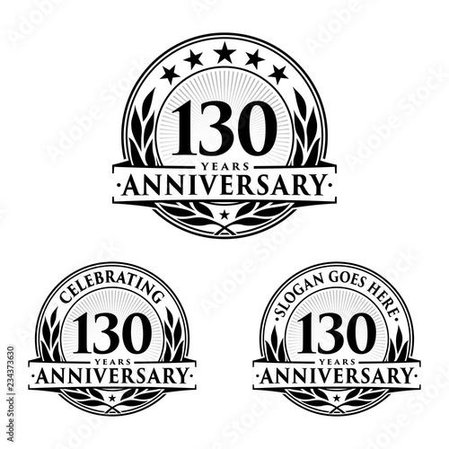 Photo  130 Years Anniversary Set