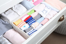 Wardrobe Drawer With Many Chil...