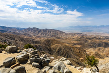 Keys View Is An Overlook Over The Coachella Valley Of California, At Joshua Tree National Park, California