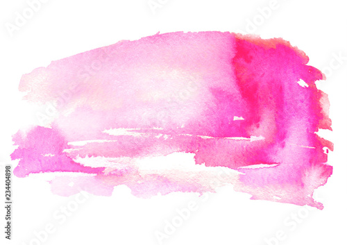 Watercolor Pink Background Abstract Spot Splash Of Paint Blot Divorce