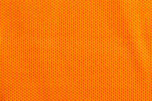 Pumpkin Orange Knit Cloth Texture