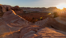 Sunset - Valley Of Fire Nevada