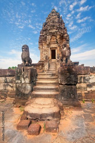Deurstickers Bedehuis Bakong Prasat temple in Angkor Wat