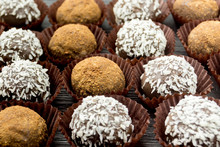 Chocolate And Coconut Cakes
