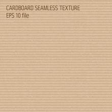 Cardboard Seamless Pattern - E...