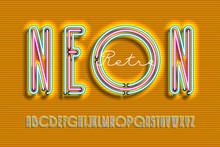 Neon Sign Lamp Font