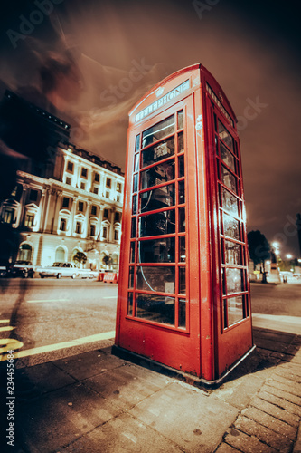 public telephone in England