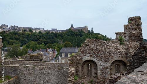 Plakat Wieża zegarowa zamku Fougeres