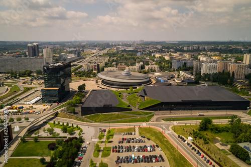 Obraz na plátne Międzynarodowe Centrum Kongresowe w Katowicach