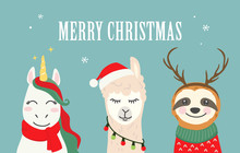 Collection Of Christmas Cartoo...