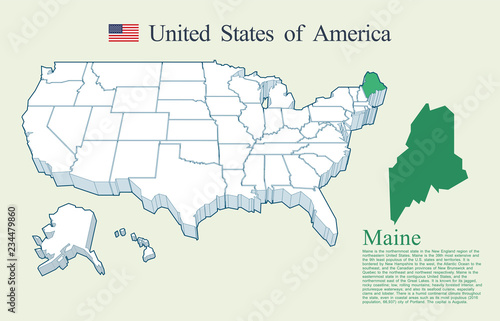 USA map vector, Maine - Buy this stock vector and explore ... Maine In Usa Map on usa map michigan, usa map oklahoma, usa map minnesota, usa map georgia, usa map new york, usa map kentucky, usa map florida, usa map maryland, usa map california, usa map mississippi, usa map hawaii, usa map new hampshire, usa map alabama, usa map pennsylvania, usa map connecticut, usa map virginia, usa map vermont, usa map portland, usa map nevada, usa map arizona,