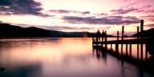 Ashness Pier On Derwent Water ...