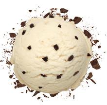 Vanilla Ice Cream Scoop With B...