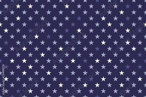 Fototapeten Künstlich seamless stars pattern vector