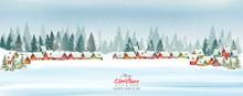 Holiday Christmas Background W...