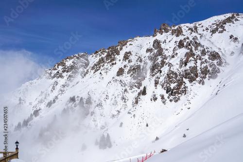 Talgar Pass, Shymbulak Resort, Kazakhstan