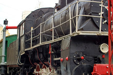 Historical Sites Steam Locomotive Of The Mid 20th Century