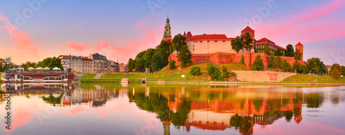 Fototapeta Wawel at sunset obraz
