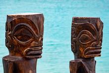 Tiki In Bora Bora French Polyn...