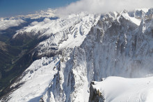 French Alps Mountain Peaks Cov...