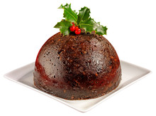 CHRISTMAS PUDDING CUT OUT